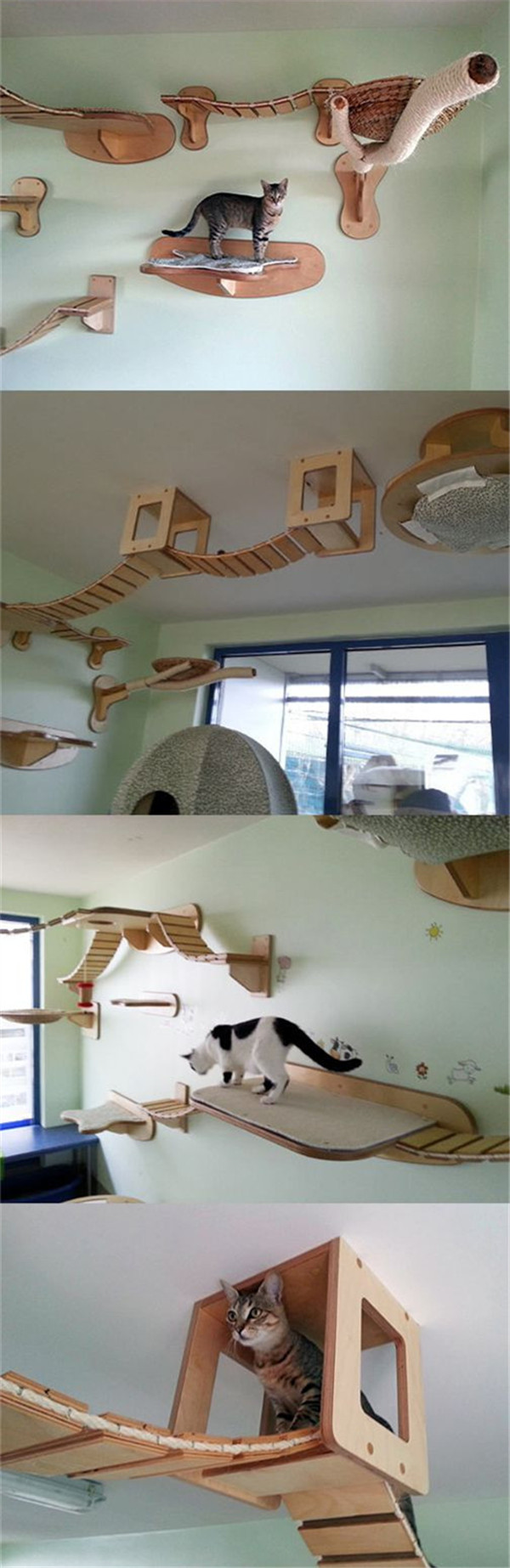 Build your own large cat tree