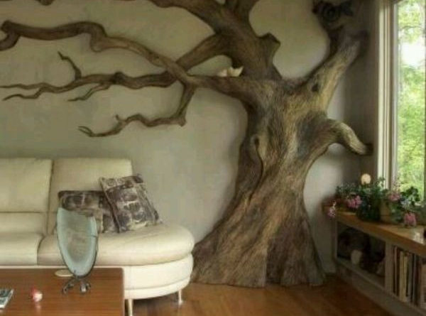 Creative cat trees that look like trees