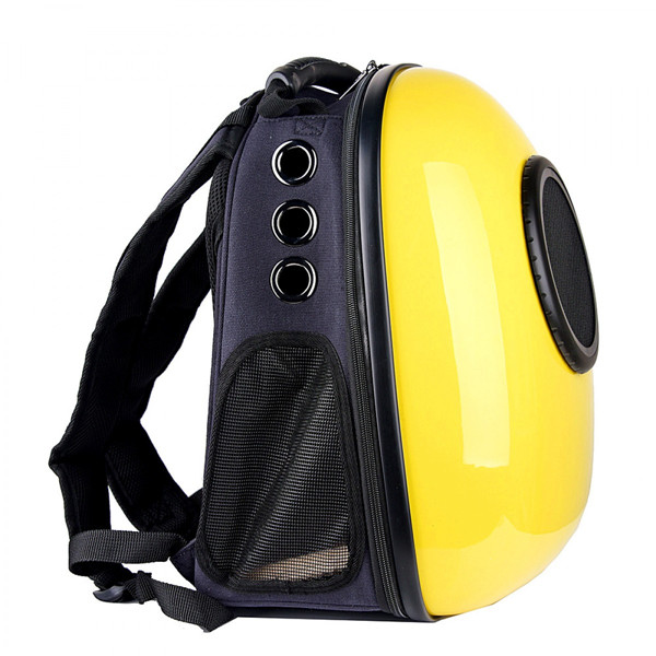 Yellow Dog And Cat Carrier Astronaut Travel Cat Carrier