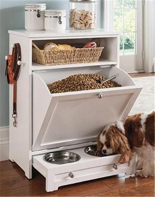Diy Dog Feeding Station Ideas Your Pet Will Like Fallinpets