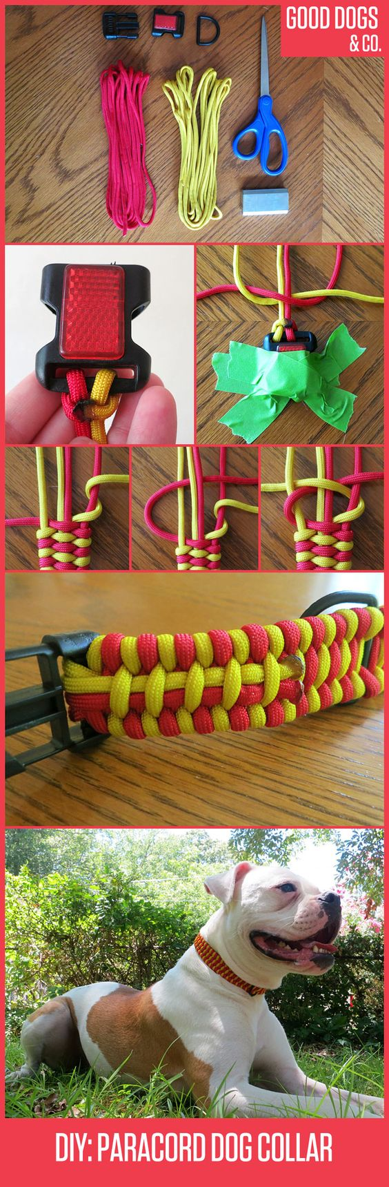 How To Braid A Paracord Survival Collar For Your Dog