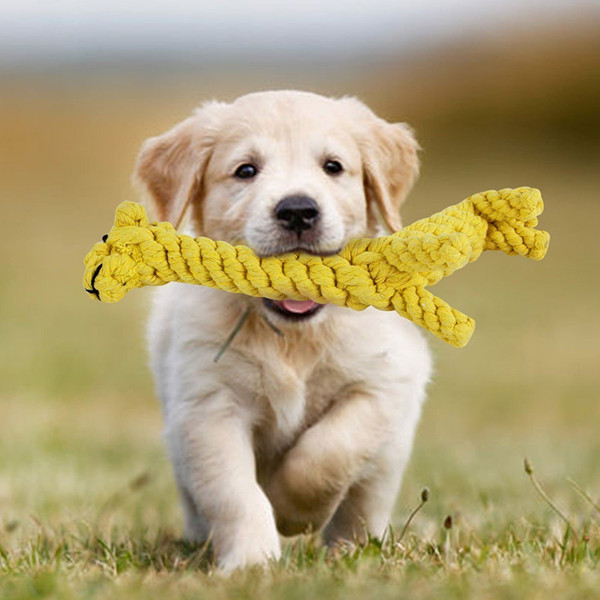 Animal Design Cotton Rope Dog Toys