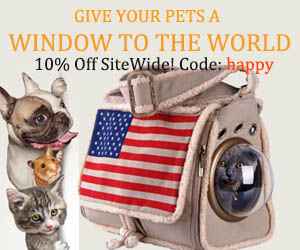 FallinPets Astronaut Pet Carrier Travel Backpack Bag