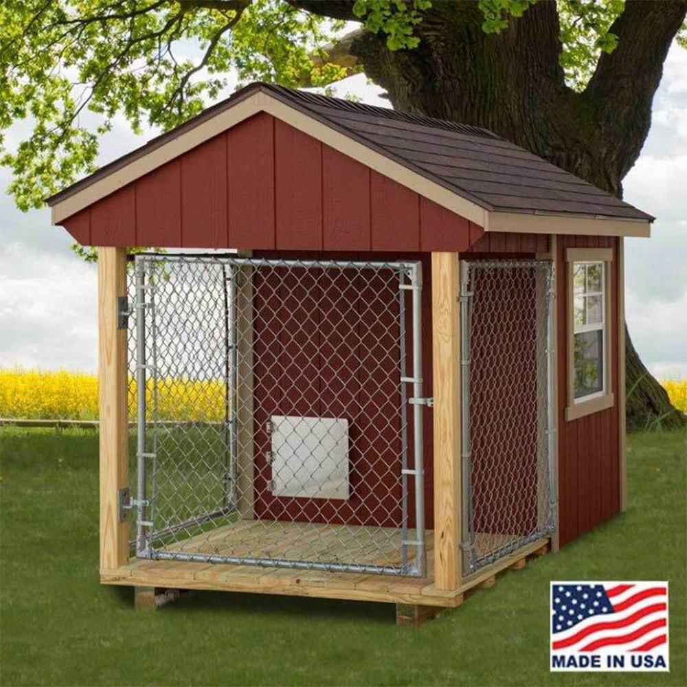 20-best-outdoor-dog-kennel-ideas-16 | fallinpets