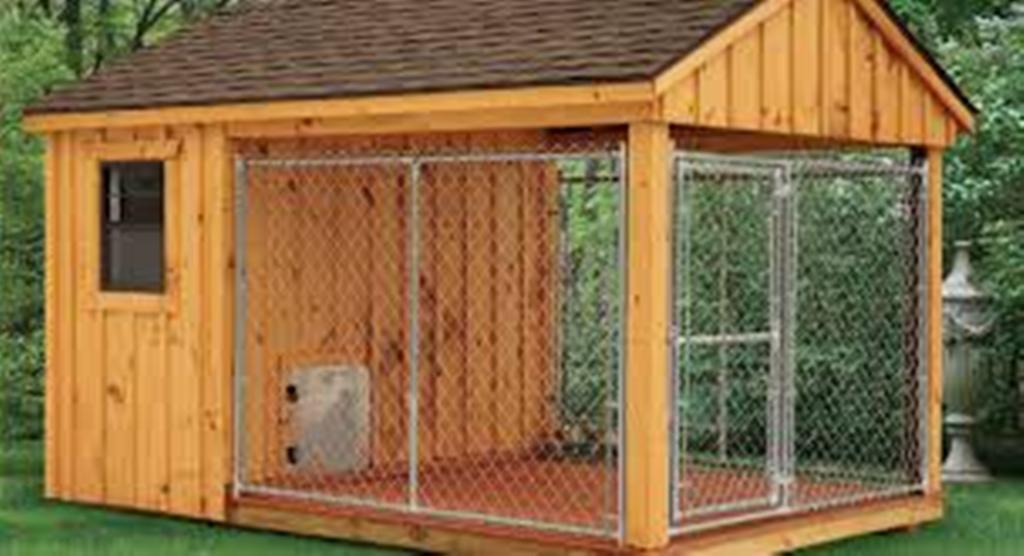 20 Best Outdoor Dog Kennel Ideas 6 Fallinpets