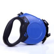 heavy-duty-retractable-dog-leash-with-anti-slip-handle-blue