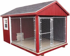 Swell The Benefits An Outdoor Dog Kennel Can Provide Your Pet Interior Design Ideas Ghosoteloinfo
