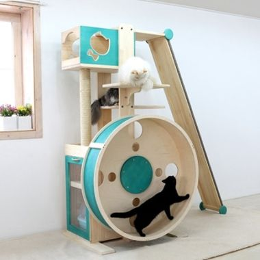 Adorable Cat Tower Plans For Your Furry Friend